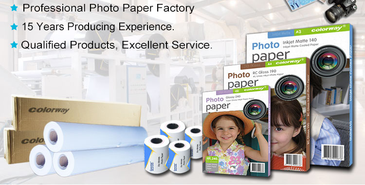 Matte Coated Photo Paper Rolls